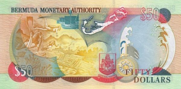 Бермуды валюта 10 рублей 2011 ммд