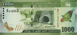 Курс доллара к шриланкийской рупии